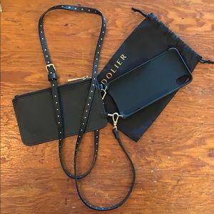 Bandolier iPhone XS MAX Leather Crossbody Case